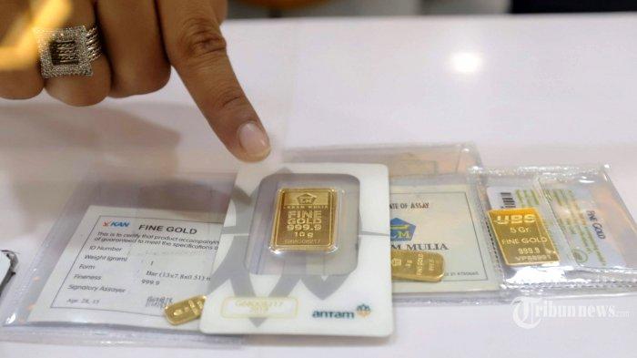 Harga Emas Antam Kamis, 17 Desember 2020, Naik Rp 965 Ribu per Gram, Berikut Rinciannya