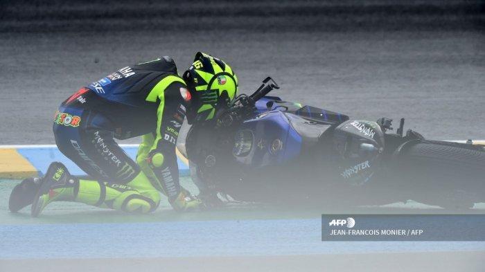 Valentino Rossi: Saya Sudah Berikan Segalanya pada Yamaha, Tapi Apa yang Berubah?